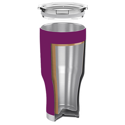 H2Go Plum Wine 28 oz Summit Tumbler