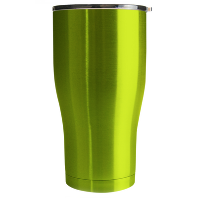 Hogg Candy Apple Green Translucent 30 oz Curve Modern Tumbler