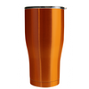 Hogg Orange Translucent 20 oz Curve Modern Tumbler