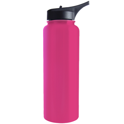 Hogg Bright Pink 40 oz HydroSport Bottle