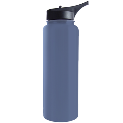 Hogg Periwinkle Grey 40 oz HydroSport Bottle