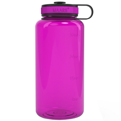 Fuchsia 34 oz Wide Water Bottle