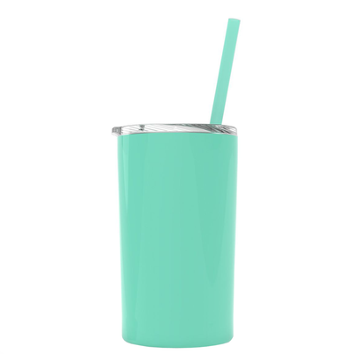 Mint 12 oz Skinny Mini Tumbler