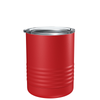 Polar Camel Red 10 oz Lowball Tumbler