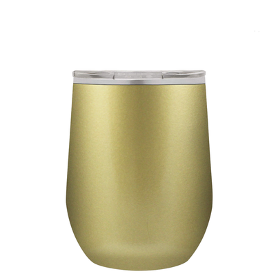 Polar Camel Gold 12 oz Wine Tumbler