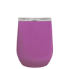 Polar Camel Light Violet 12 oz Wine Tumbler