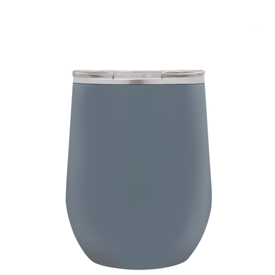 Polar Camel Squirrel Grey 12 oz Wine Tumbler