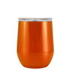 Polar Camel Orange Translucent 12 oz Wine Tumbler