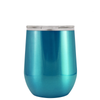 Polar Camel Teal Translucent 12 oz Wine Tumbler