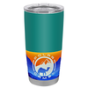 Polar Camel Aqua Blue Gloss 20 oz Tumbler