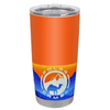 Polar Camel Bright Orange Gloss 20 oz Tumbler
