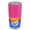 Polar Camel Bright Pink Gloss 20 oz Tumbler