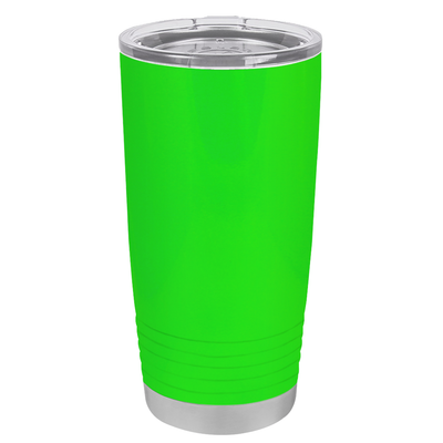 Polar Camel Neon Green Gloss 20 oz Tumbler