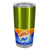 Polar Camel Candy Apple Green Translucent 20 oz Tumbler