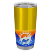 Polar Camel Gold Translucent 20 oz Tumbler