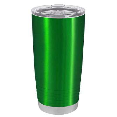 Polar Camel Green Translucent 20 oz Tumbler