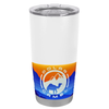 Polar Camel White Gloss 20 oz Tumbler