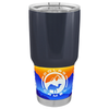 Polar Camel Blue Grey Gloss 30 oz Tumbler