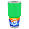 Polar Camel Neon Green Gloss 30 oz Tumbler