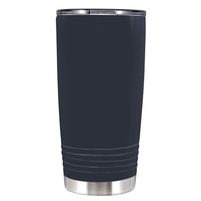 Polar Camel Blue Grey Gloss 20 oz Tumbler