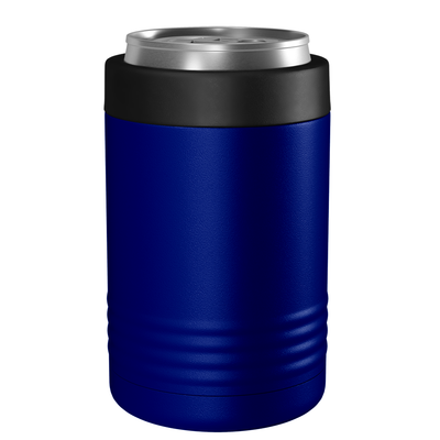 Polar Camel Blue 12 oz Can Cooler