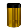 Polar Camel Gold Translucent 12 oz Can Cooler