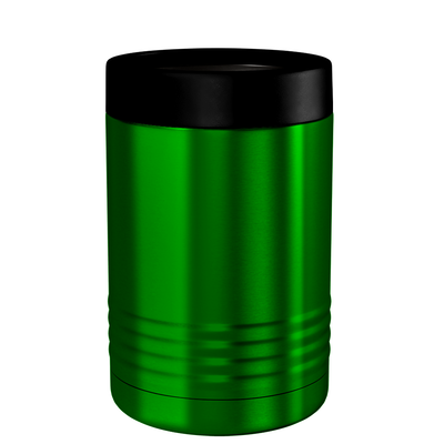 Polar Camel Green Translucent 12 oz Can Cooler