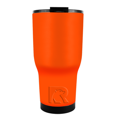 RTIC Orange Gloss 20 oz Tumbler