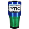 RTIC Blue Green Translucent Ombre 30 oz Tumbler