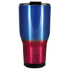 RTIC Blue Red Translucent Ombre 30 oz Tumbler