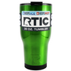 RTIC Green Translucent 30 oz Tumbler