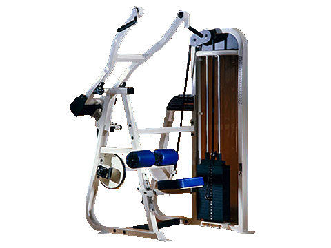 Factory photo of a Refurbished Body Masters Basix Line Lat Pulldown