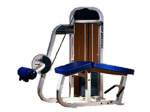 Factory photo of a Refurbished Body Masters Basix Line Prone Leg Curl