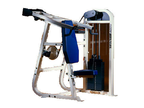 Factory photo of a Refurbished Body Masters Basix Line Shoulder Press