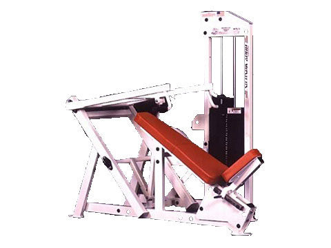 Factory photo of a Refurbished Body Masters MD Series Incline Chest Press