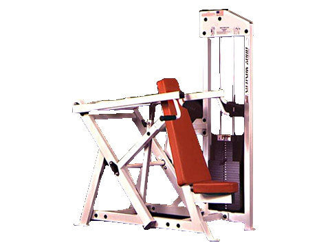 Factory photo of a Refurbished Body Masters MD Series Shoulder Press