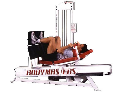 Factory photo of a Used Body Masters MD Series Super Seated Leg Press