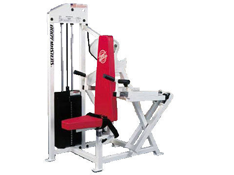 Factory photo of a Used Body Masters MD Series Tricep Press and Seated Dip