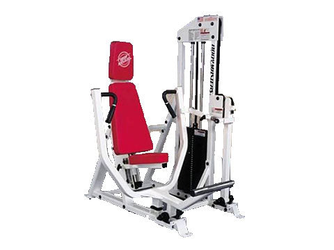 Factory photo of a Used Body Masters MD Series Vertical Chest Press