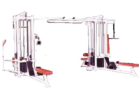 Factory photo of a Refurbished Body Masters Super Multi Trainer 8 stack Multi Station