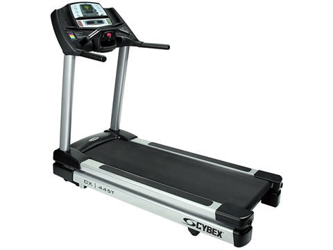 Factory photo of a Refurbished Cybex 445T Treadmill