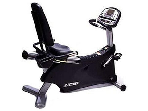 Factory photo of a Refurbished Cybex 530R Sigma Cyclone Recumbent Bike