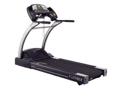 Factory photo of a Used Cybex 530T Pro Plus Treadmill