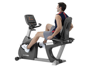 Factory photo of a Used Cybex 750R Recumbent Bike
