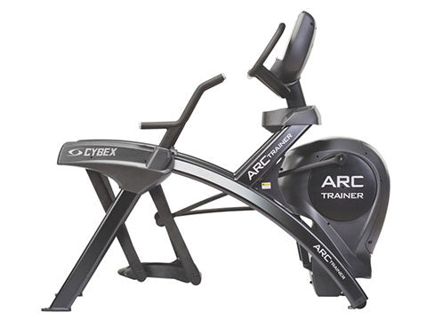 Factory photo of a Used Cybex 772A Lower Body Arc Trainer with E3 Cardio HDTV