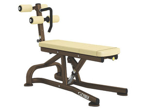 Factory photo of a Refurbished Cybex Bent Leg Adjustable Abdominal Board New Style