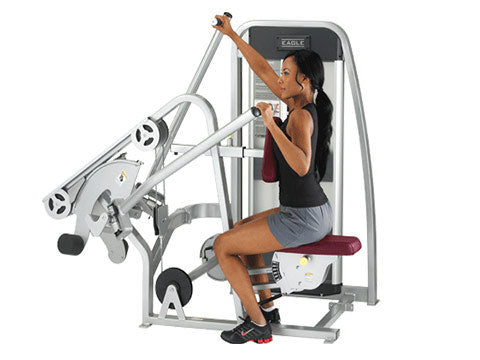 Factory photo of a Used Cybex Eagle Incline Pull