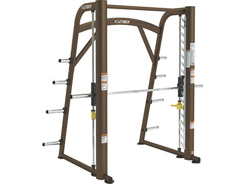 Factory photo of a Refurbished Cybex Plate Loaded Smith Machine New Style