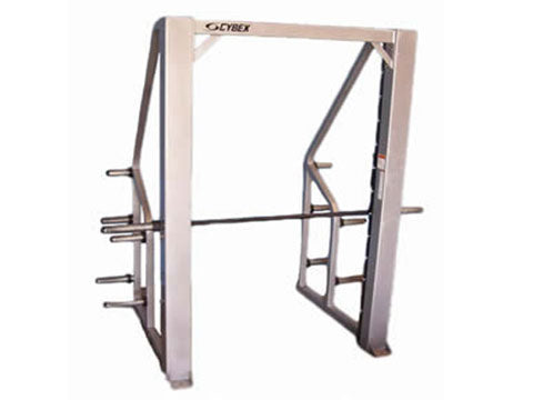 Factory photo of a Used Cybex Plate Loaded Smith Machine