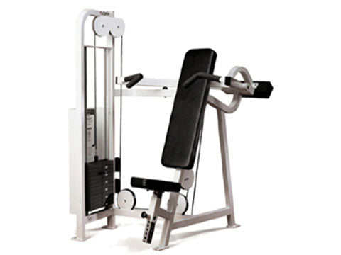 Factory photo of a Used Cybex VR Overhead Press